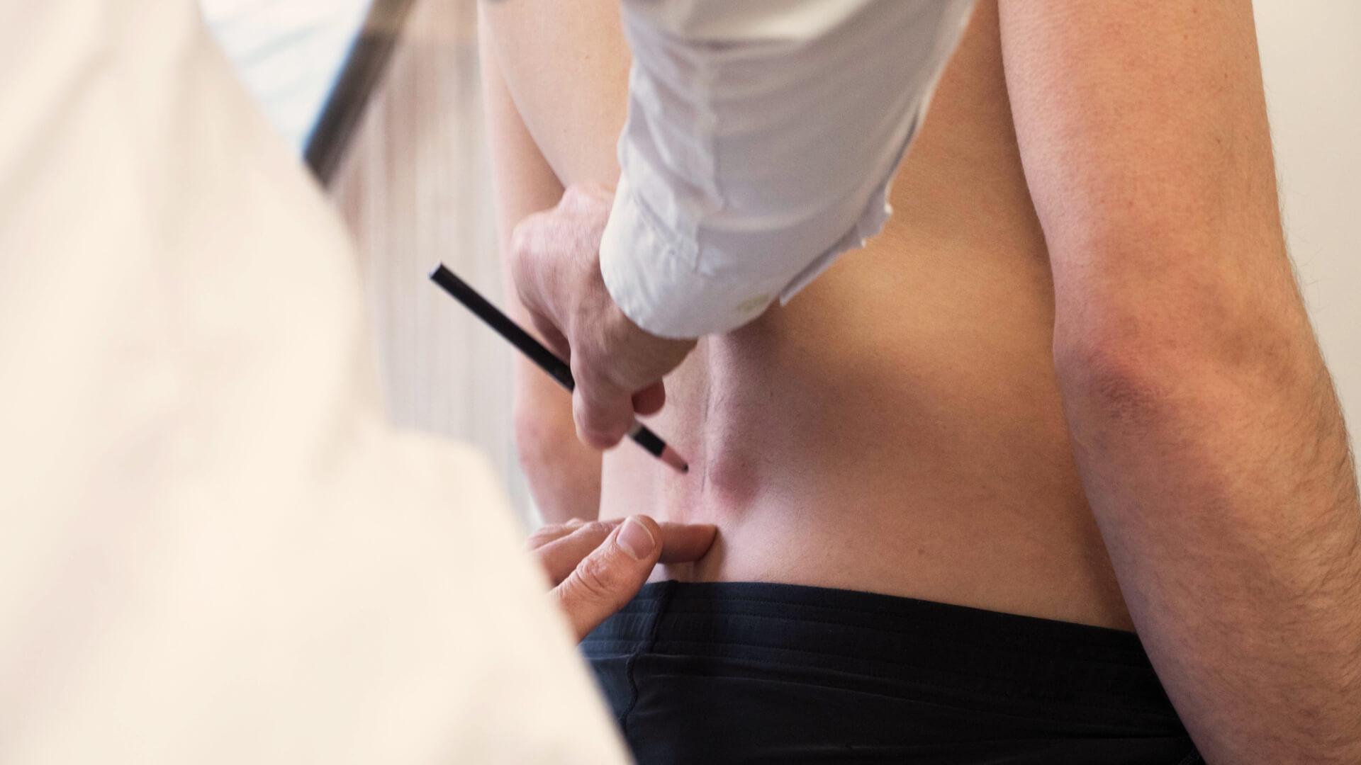 Begeleidende afbeelding bij uitleg over wat je mag verwachten over chiropraxie