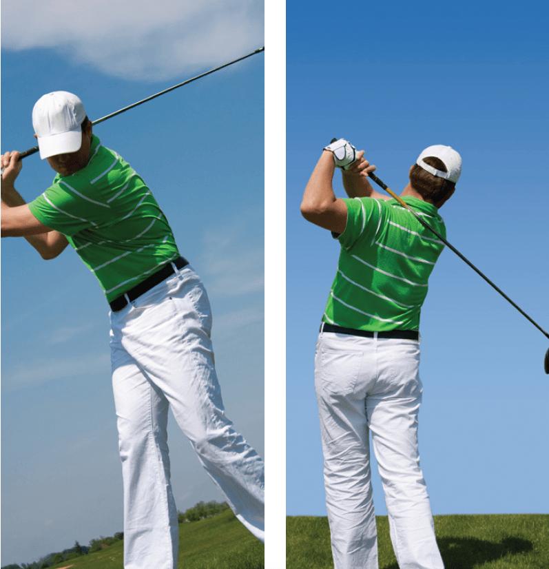 Golf-draaibeweging